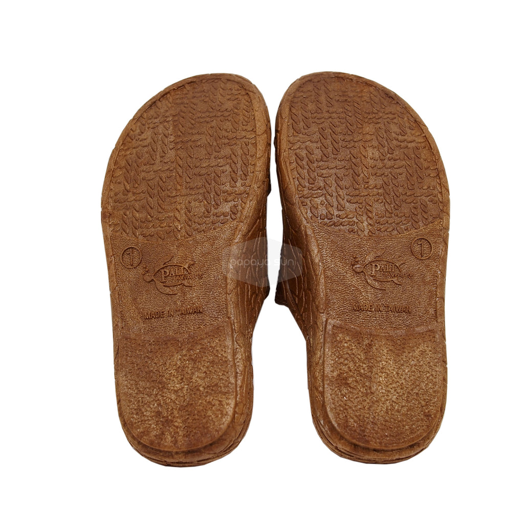 Kids Brown Jesus Sandal - PapayaSun