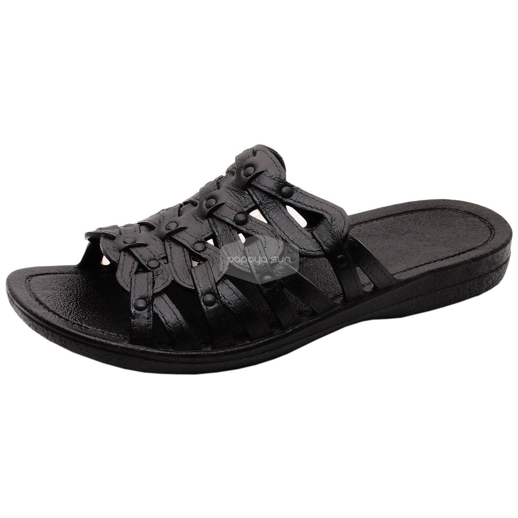 Black Tia Pali Hawaii Sandal - PapayaSun