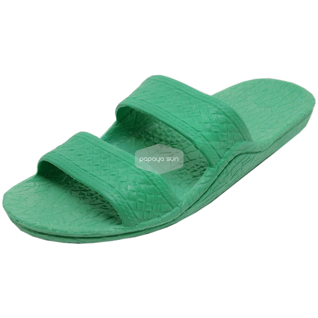 Classic Green Hawaiian Jandals Pali Hawaii Jesus Sandals