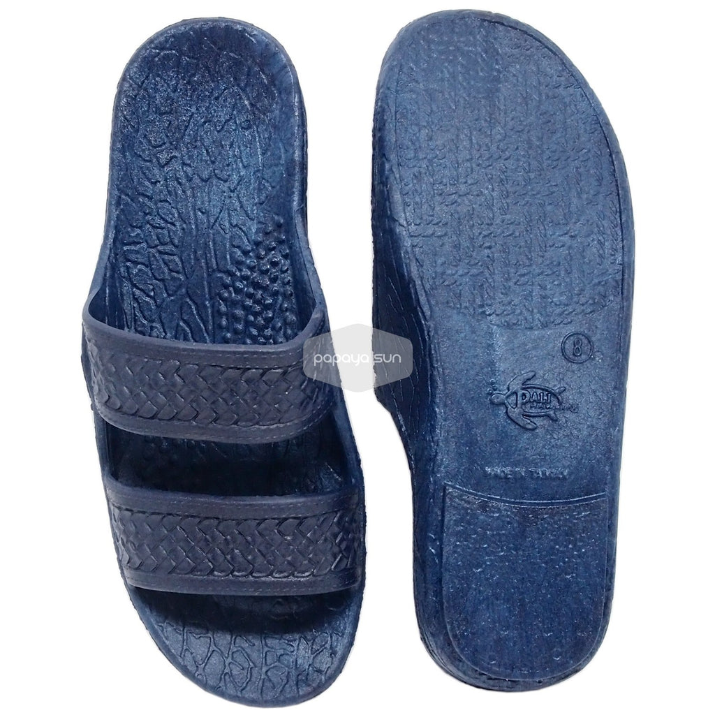 "80912ca00 Classic Navy ""Hawaiian Jandals"" Pali Hawaii Jesus Sandals - PapayaSun ..."