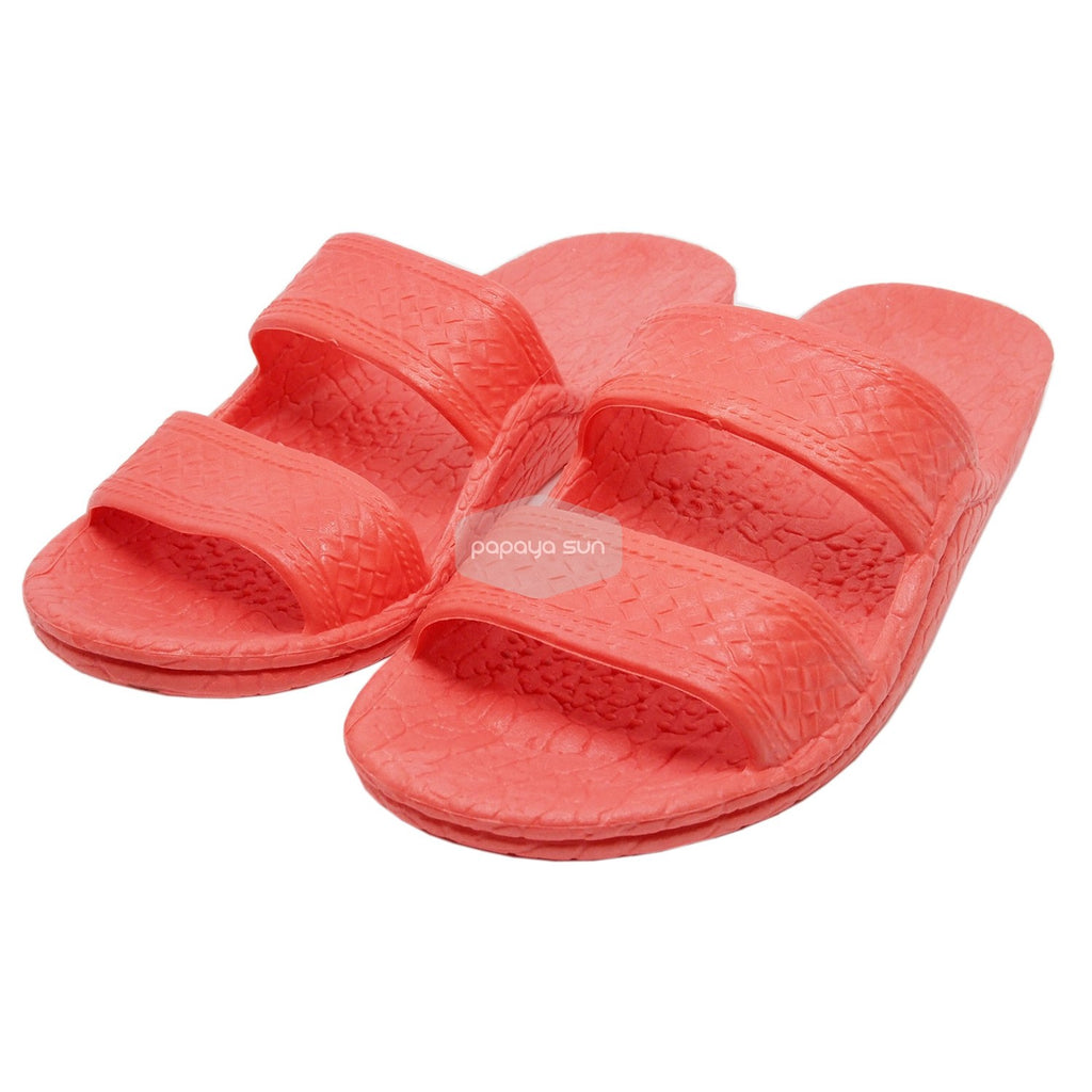 Classic Pink Hawaiian Jandals Pali Hawaii Jesus Sandals