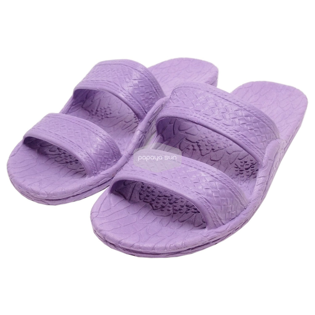 Classic Purple Hawaiian Jandals Pali Hawaii Jesus Sandals