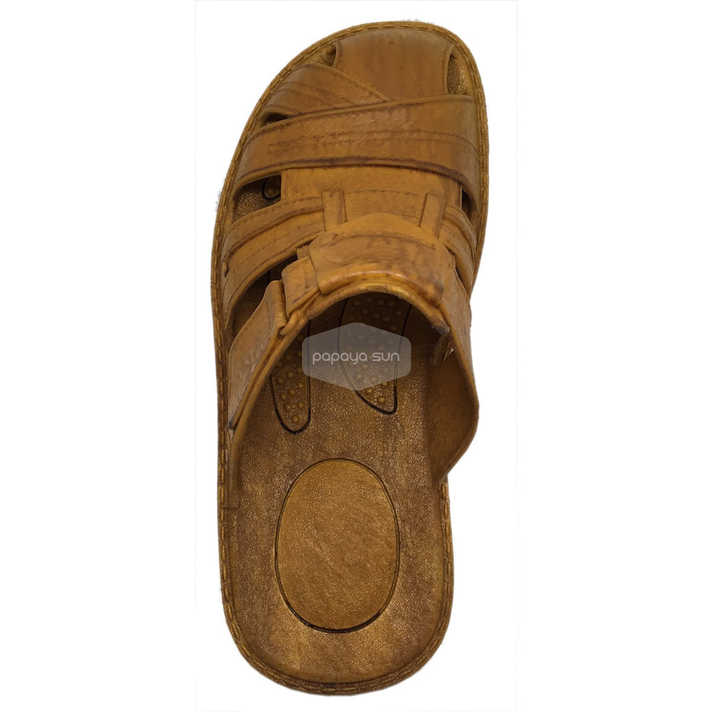 Honolulu Brown Pali Hawaii Clog Sandal - PapayaSun