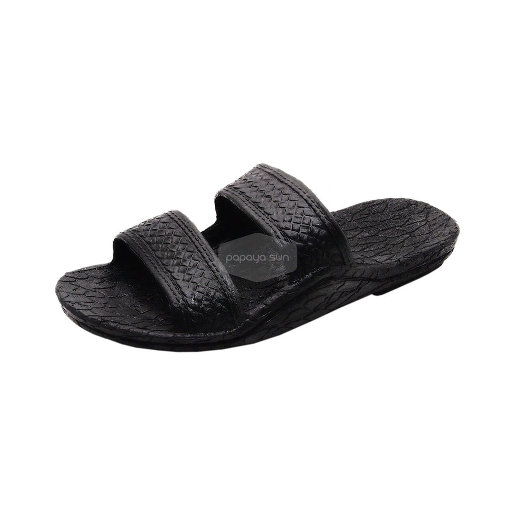 Kids Black Jesus Sandal - PapayaSun