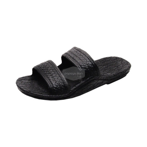 "Pali Hawaii Black Jane Jandals Sandal ""NEW JESUS SANDAL"""
