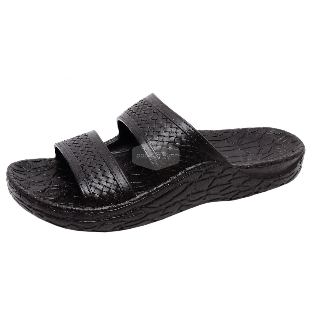 "Pali Hawaii Black Cruise Jandals Sandal ""NEW JESUS SANDAL"" - PapayaSun"
