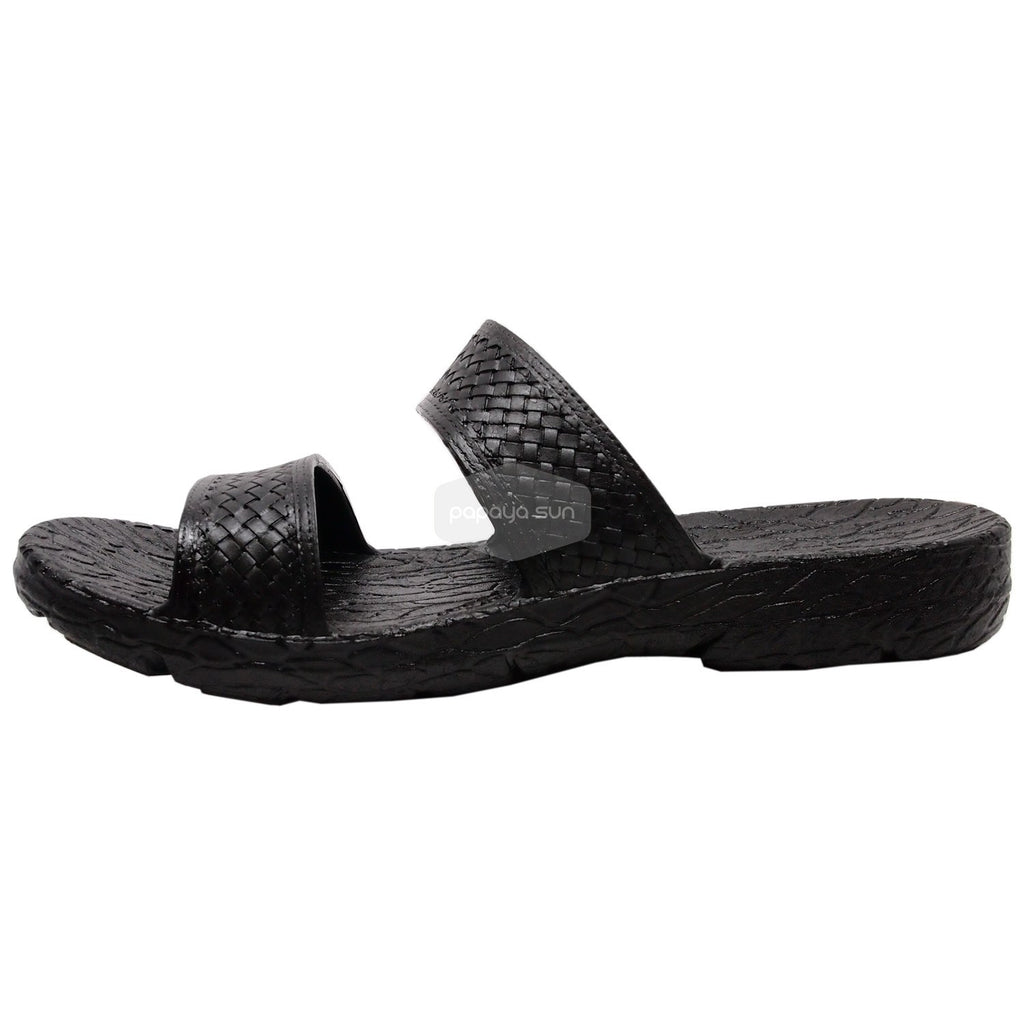 "Pali Hawaii Black Jane Jandals Sandal ""NEW JESUS SANDAL"" - PapayaSun"