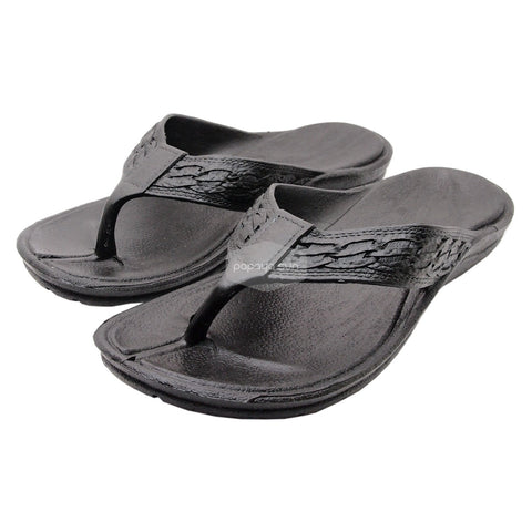 "Classic Navy ""Hawaiian Jandals"" Pali Hawaii Jesus Sandals"