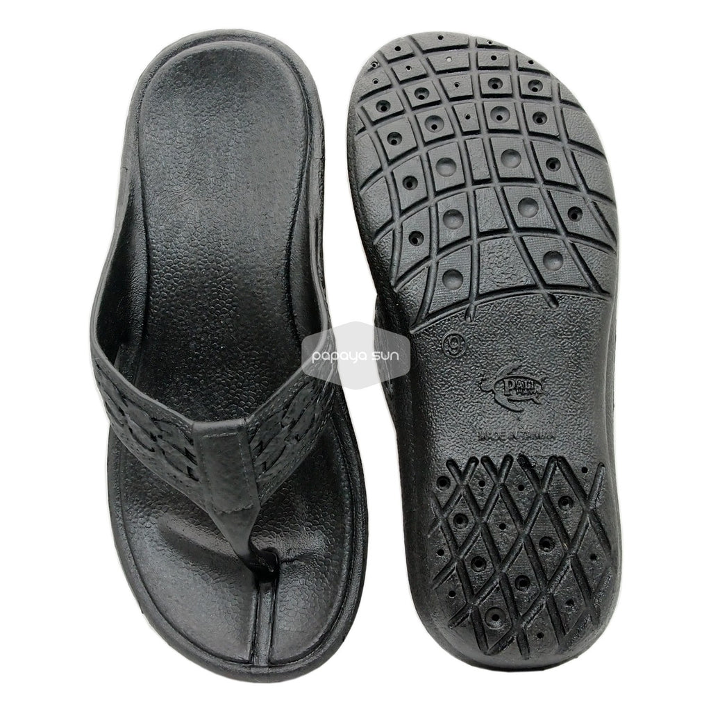 Shaka Black Pali Hawaii Sandal - PapayaSun