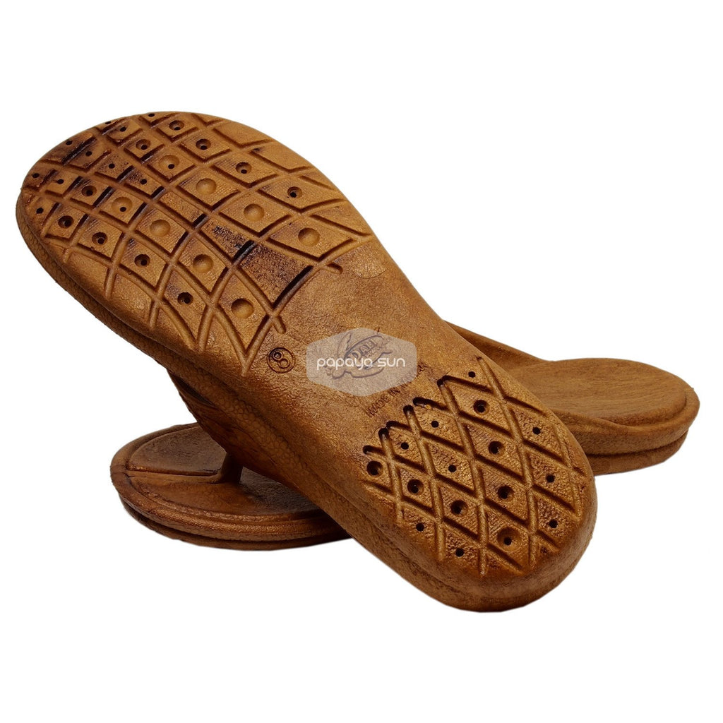 Shaka Brown Pali Hawaii Sandals - PapayaSun
