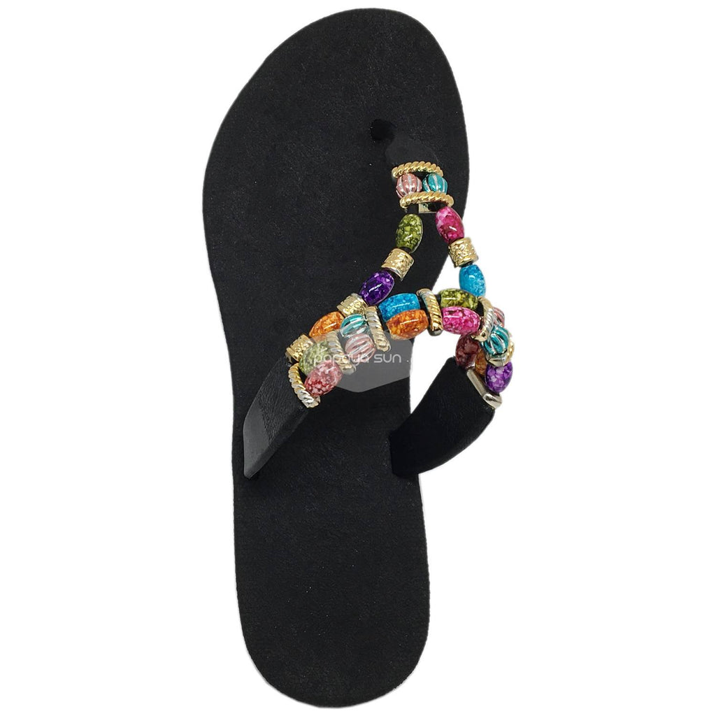Sparkle Karma Black Pali Hawaii Sandals - PapayaSun