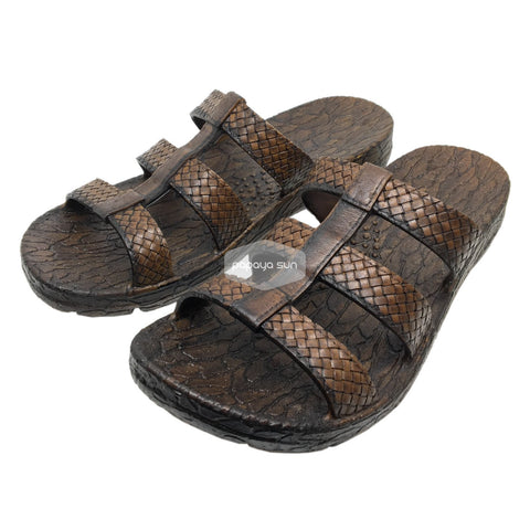 Honolulu Brown Pali Hawaii Clog Sandal