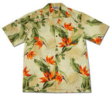 Sienna Cream Hawaiian Cotton Aloha Shirt - PapayaSun