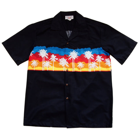 Chopper Green Border Hawaiian Shirt