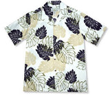Surfers Cream Hawaiian Rayon Aloha Camp Shirt - PapayaSun