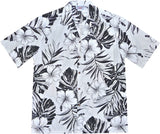 Waikiki White Hawaiian Cotton Aloha Shirt - PapayaSun