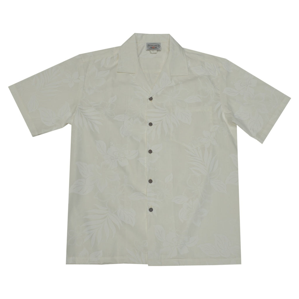 White Wedding Hawaiian Shirt - PapayaSun