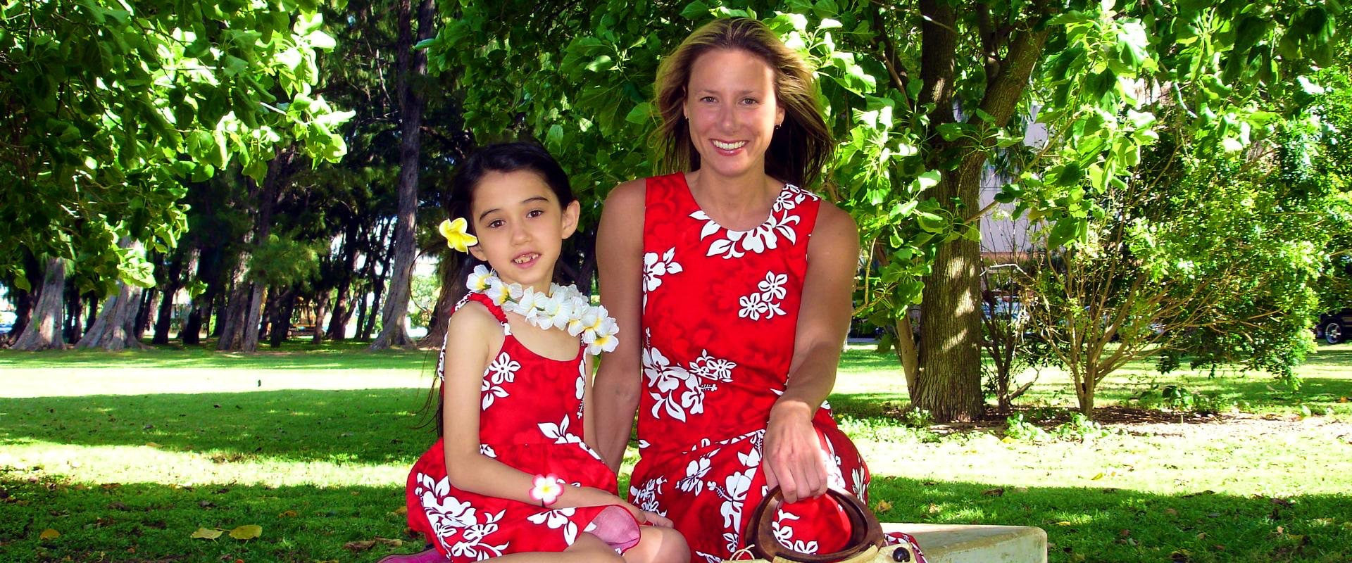 Papaya Sun - Hawaiian Dresses