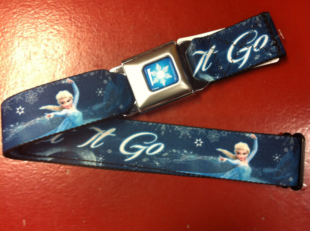 Disney Frozen Let It Go Seat Belt Belt