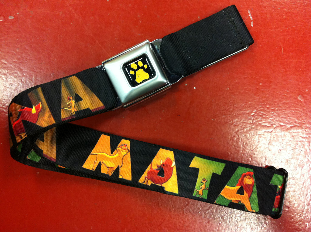 Disney Lion King Seat Belt Belt