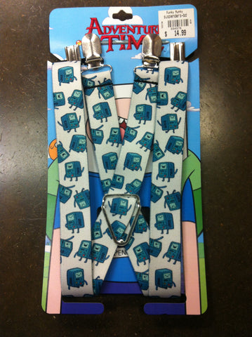 Adventure Time Suspenders