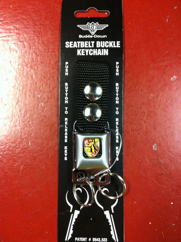 Harry Potter Gryffindor Seat Belt Bucle Keychain
