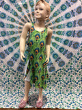 Peacock Lace Kids Dress