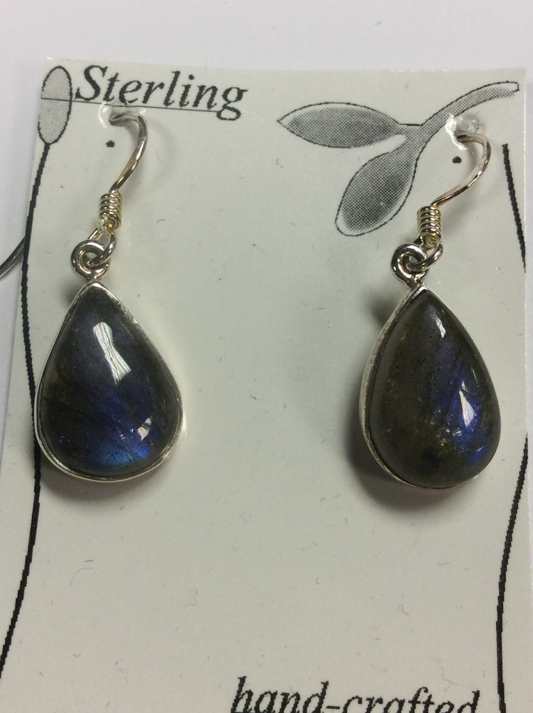 Sterling Labradorite Earrings
