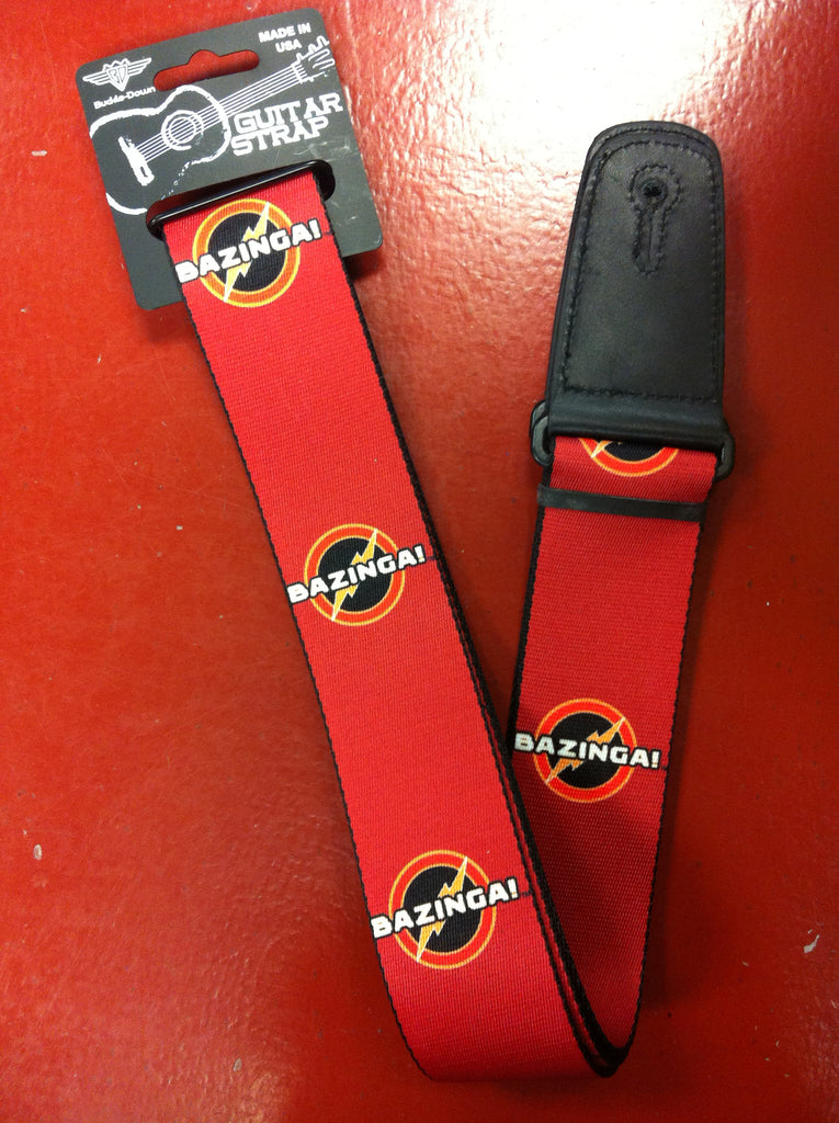 Big Bang Theory Bazinga Guitar Strap