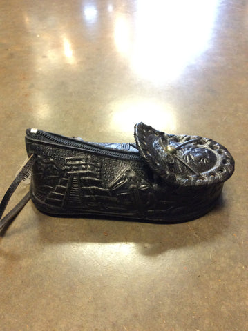 Handmade Leather Moccasin Coin Purse