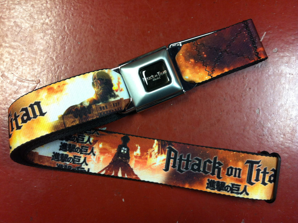 Attack on Titan Seat Belt Belt