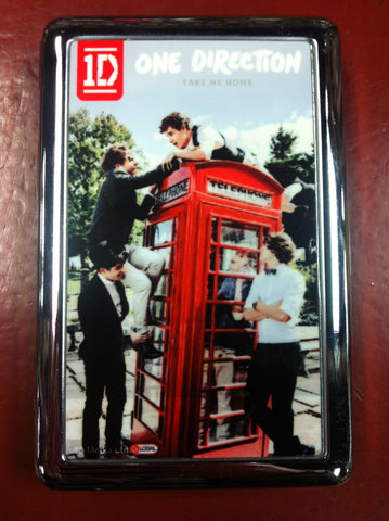 One Direction Metal Wallet