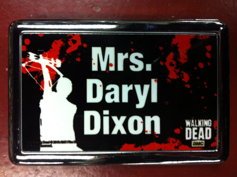 Mrs. Daryl Dixon Metal Wallet