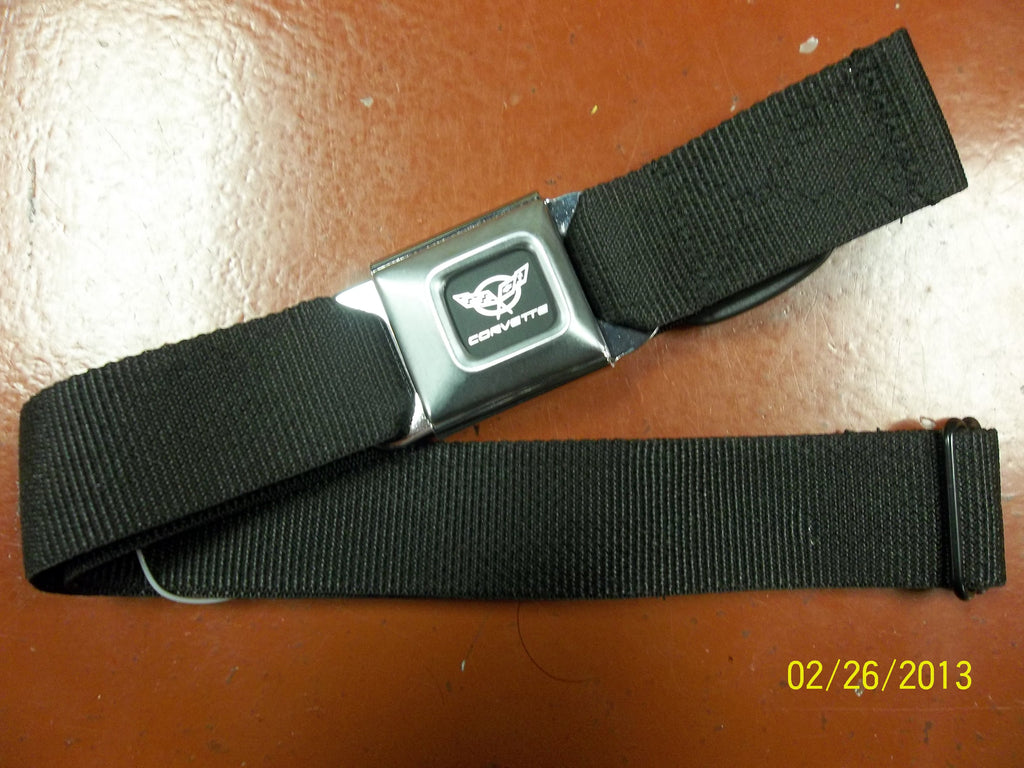 Corvette Black Seat Belt Belt