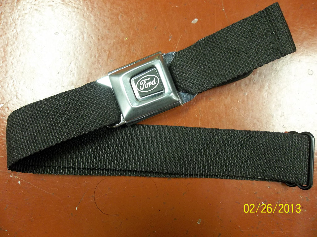 XL Ford Black Seat Belt Belt