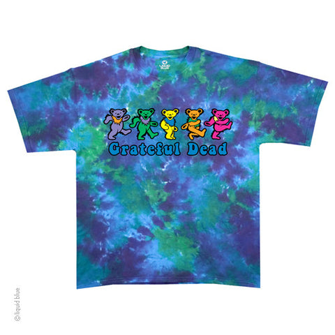 Grateful Dead Bear Row Tie Dye T-shirt