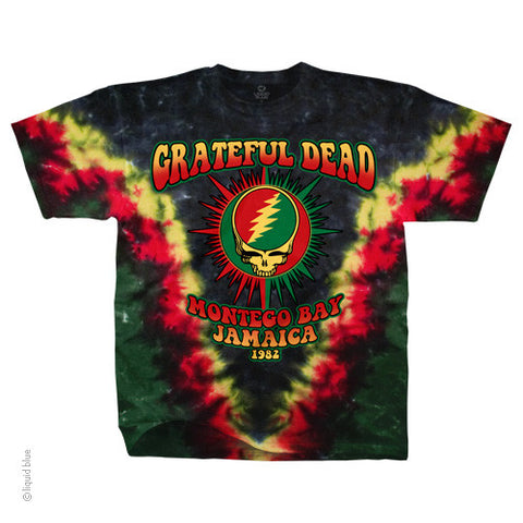 Grateful Dead Montego Bay Tie Dye T-shirt
