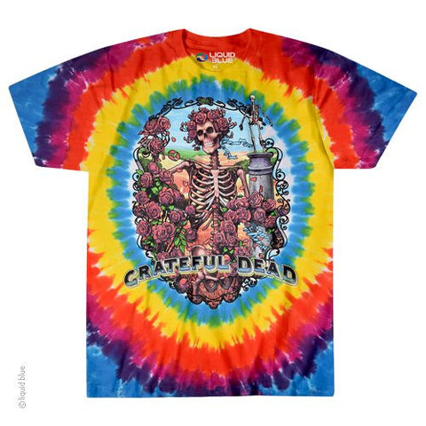 Grateful Dead Bertha Rainbow Tie Dye T-shirt