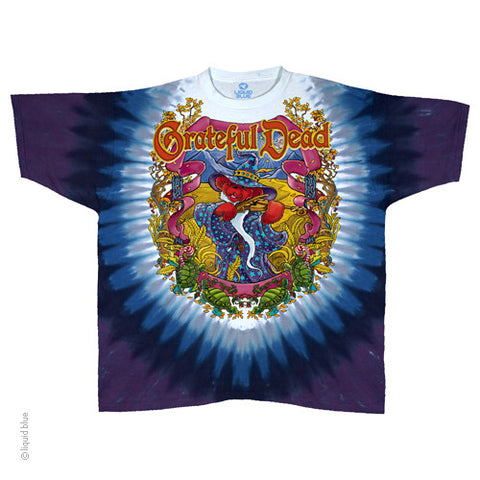 Grateful Dead Terrapin Moon Tie Dye T-shirt