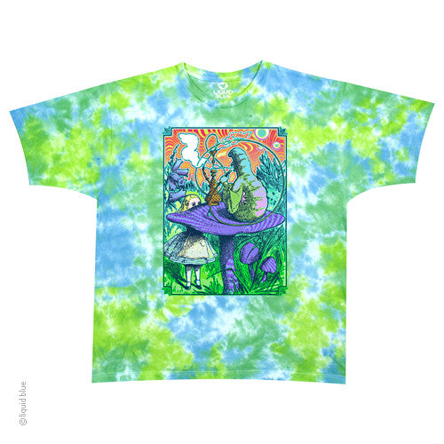 Alice In Wonderland Caterpillar Tie Dye T-shirt