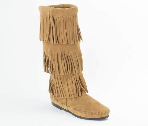 Minnetonka 3 Layer Boot Taupe
