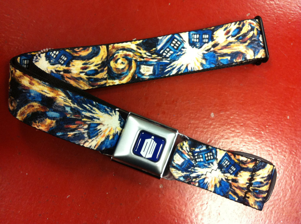 Dr Who Van Gogh Seat Belt Belt