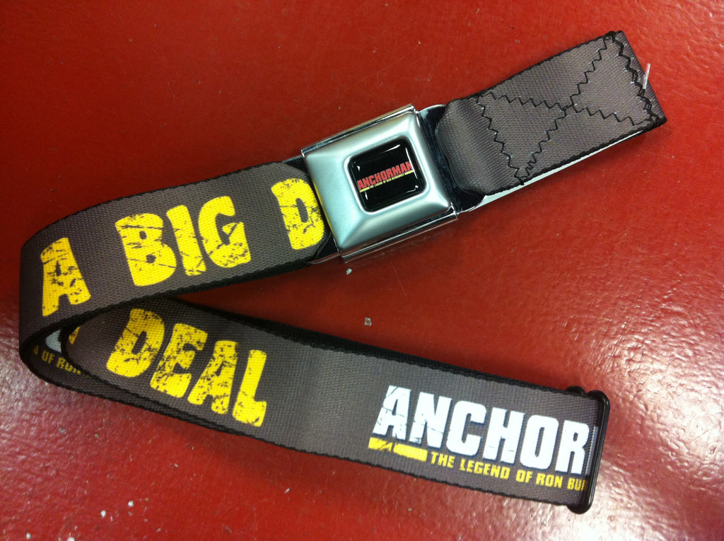 Anchorman Big Deal Seat Belt Belt