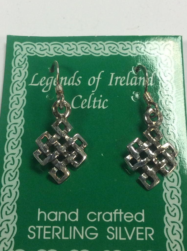 Sterling Celtic Earrings
