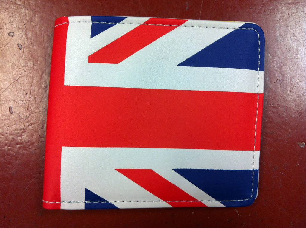 British Flag Soft Touch Bifold Wallet