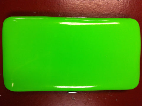 Neon Soft Touch Hinge Wallet