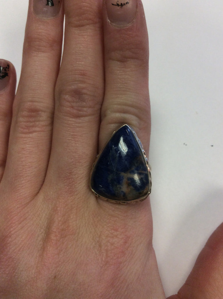 Sterling Sodalite Ring