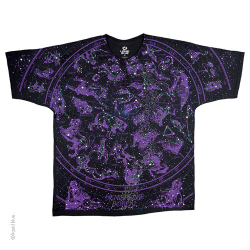 Constellations Glow in the Dark T-shirt