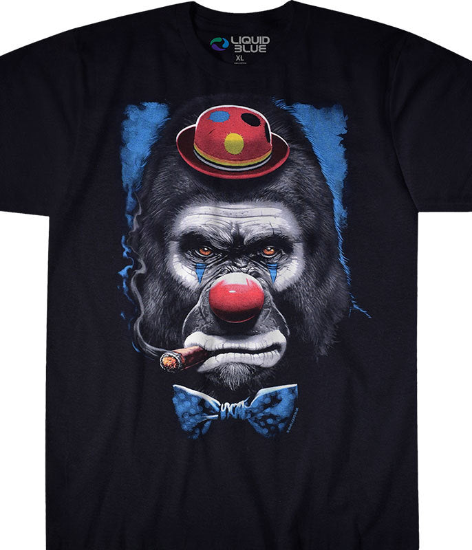 Angry Gorilla Clown T-shirt