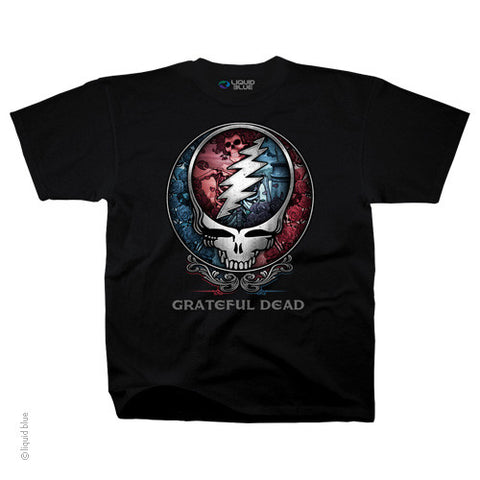 Grateful Dead Steal Your Face Bertha T-shirt